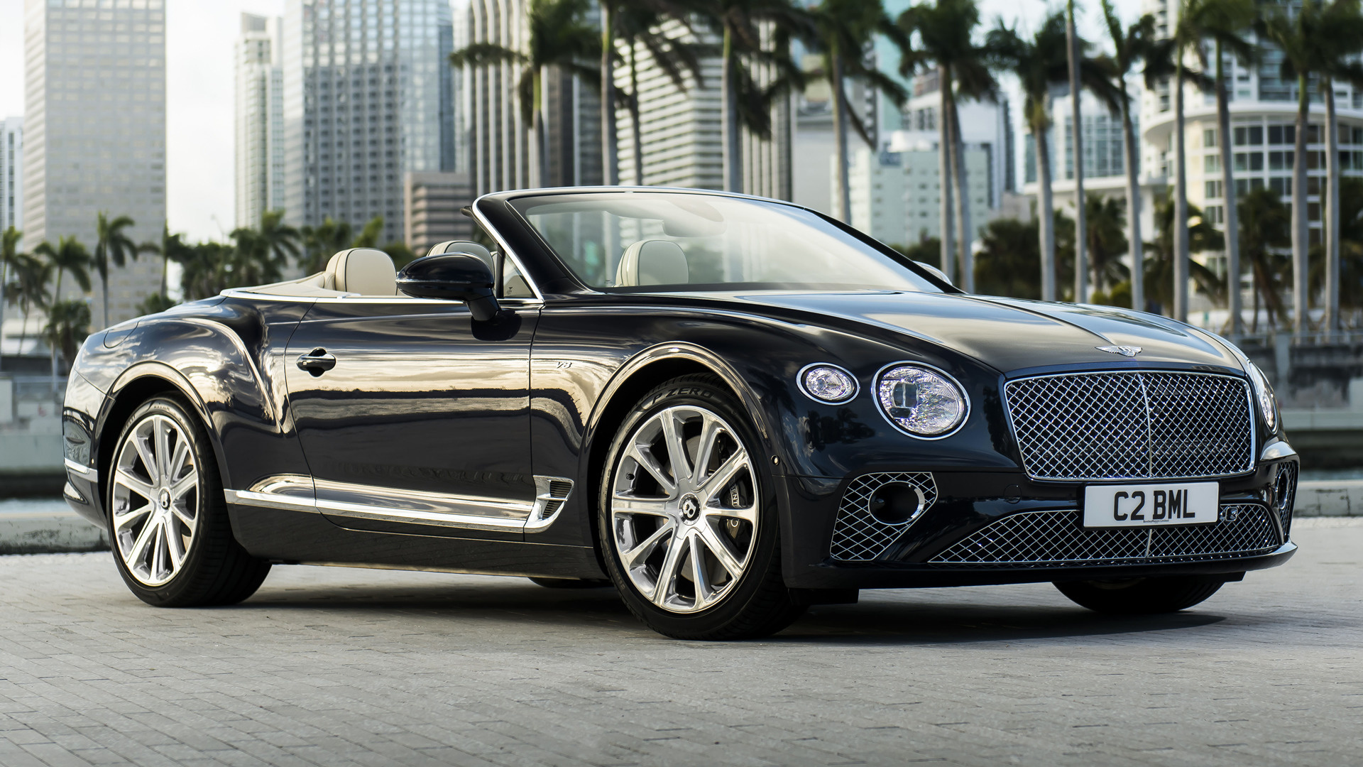 2019 Bentley Continental Gt V8 Convertible Wallpapers