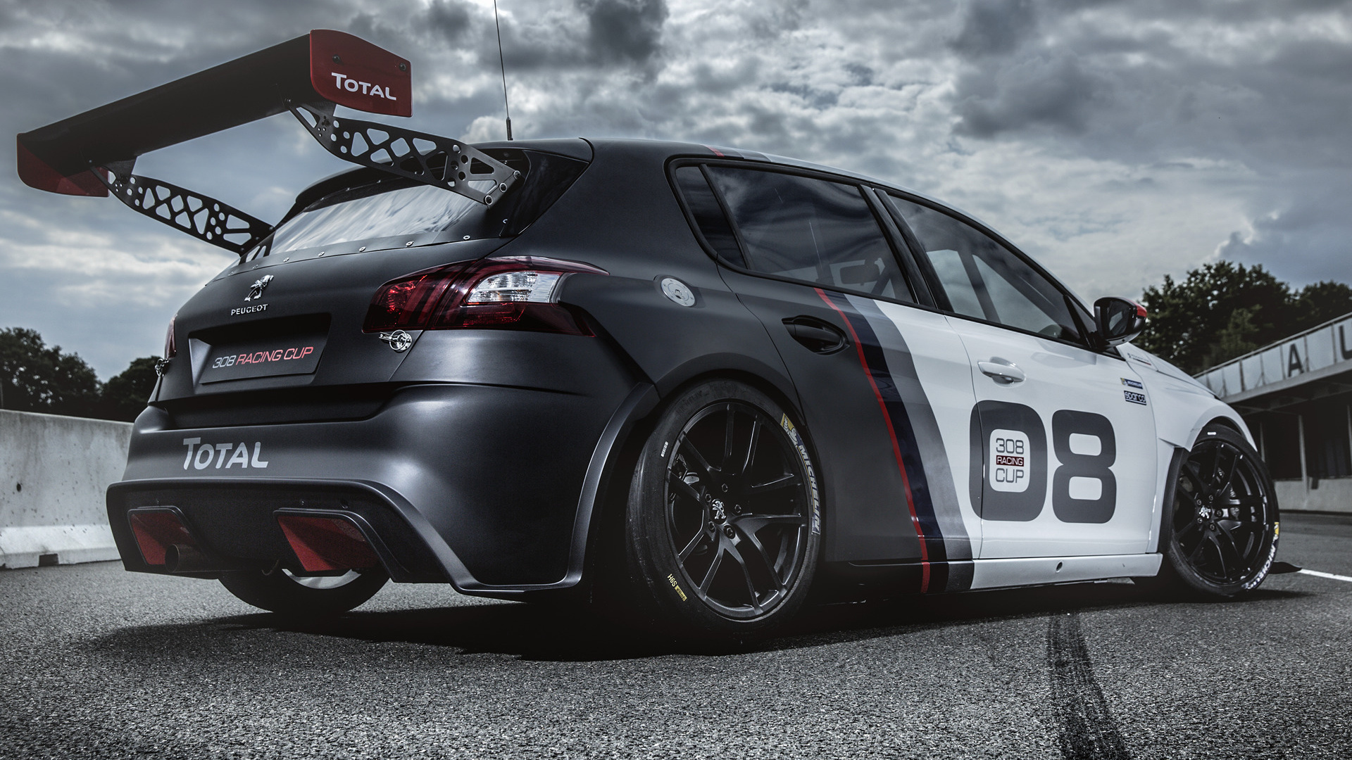 2016 peugeot 308 racing cup wallpapers and hd images car pixel. Black Bedroom Furniture Sets. Home Design Ideas