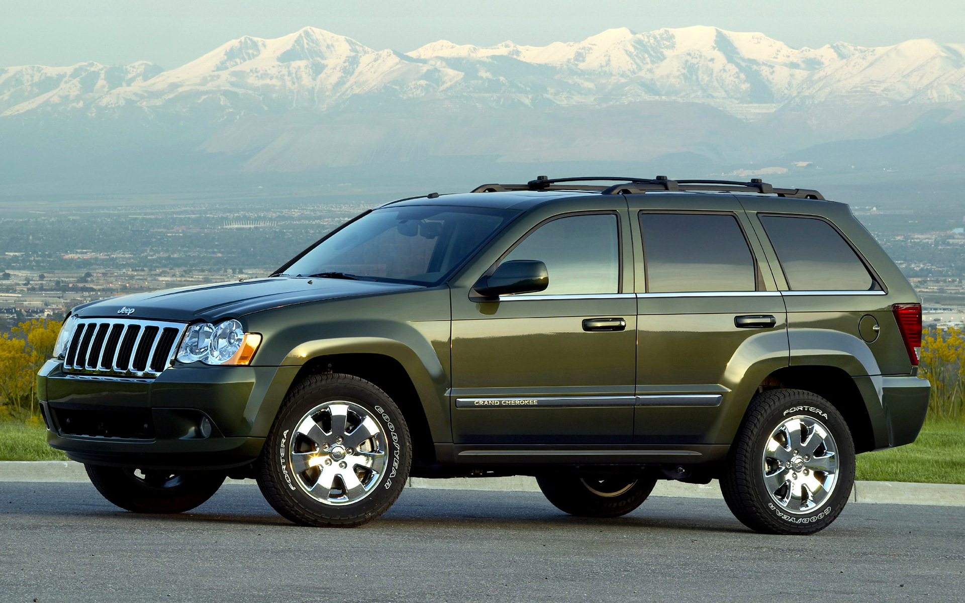 2008 Jeep Grand Cherokee Us Wallpapers And Hd Images