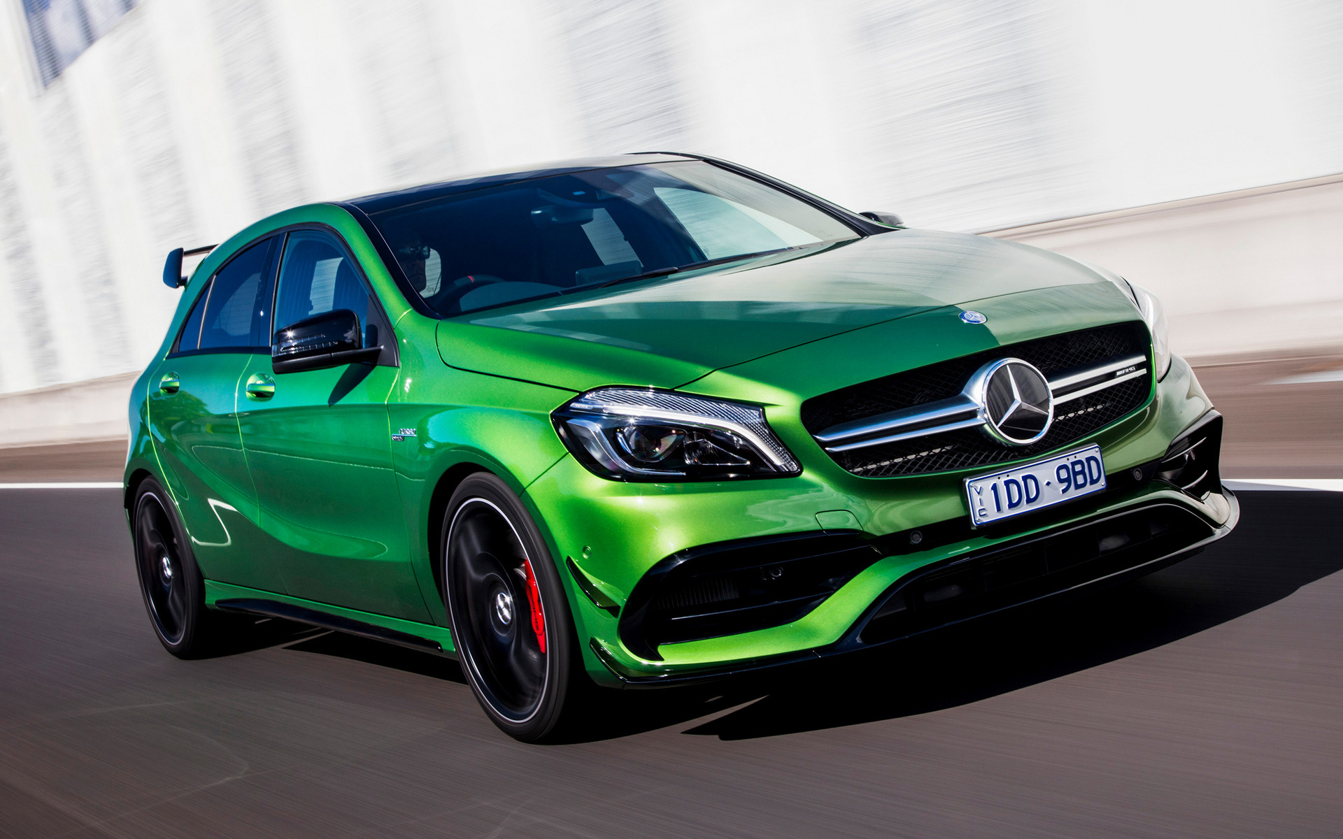 Mercedes Amg A 45 Aerodynamics Package 2016 Au