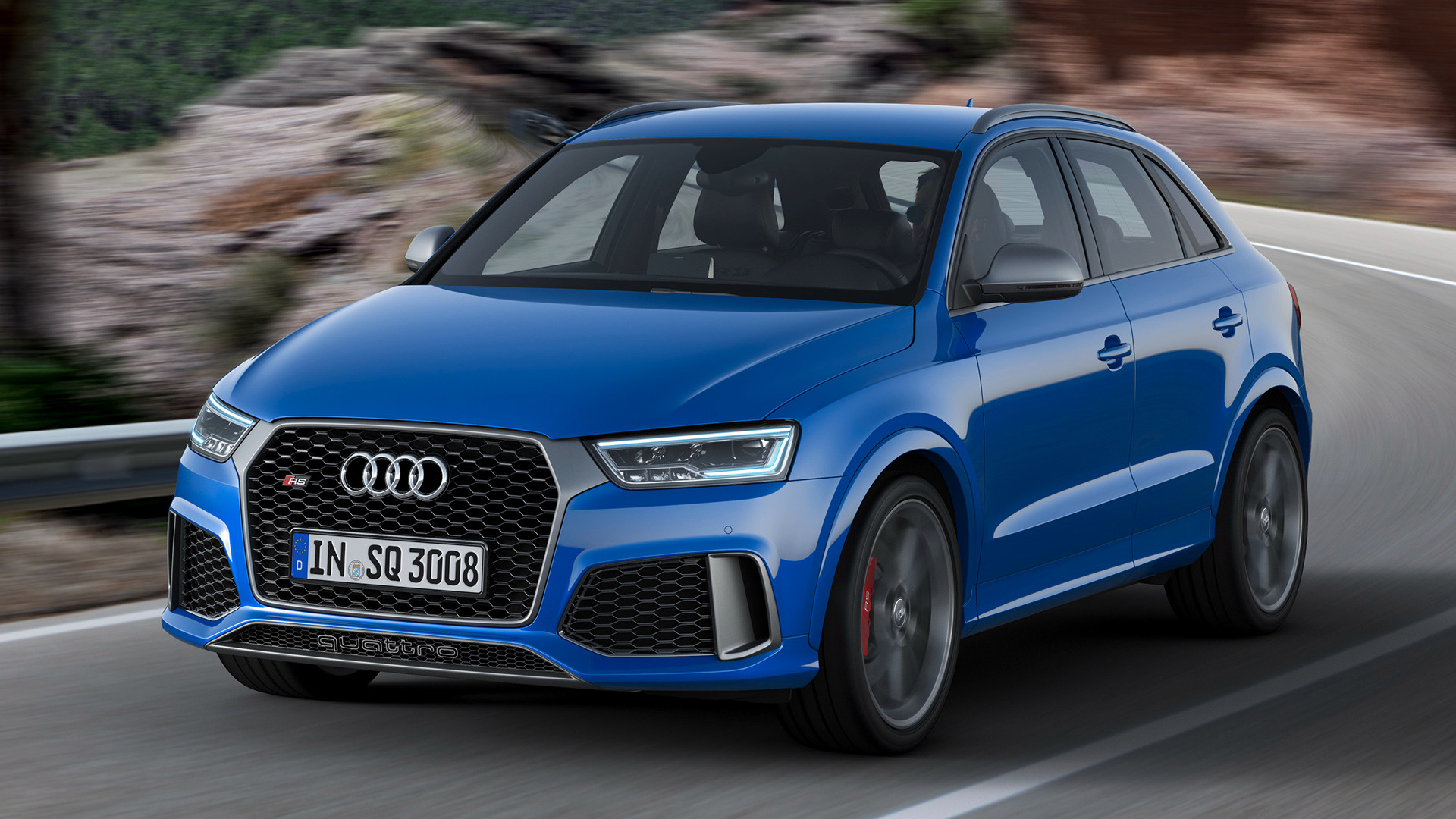 audi rs q3 performance 2016 wallpapers and hd images car pixel. Black Bedroom Furniture Sets. Home Design Ideas