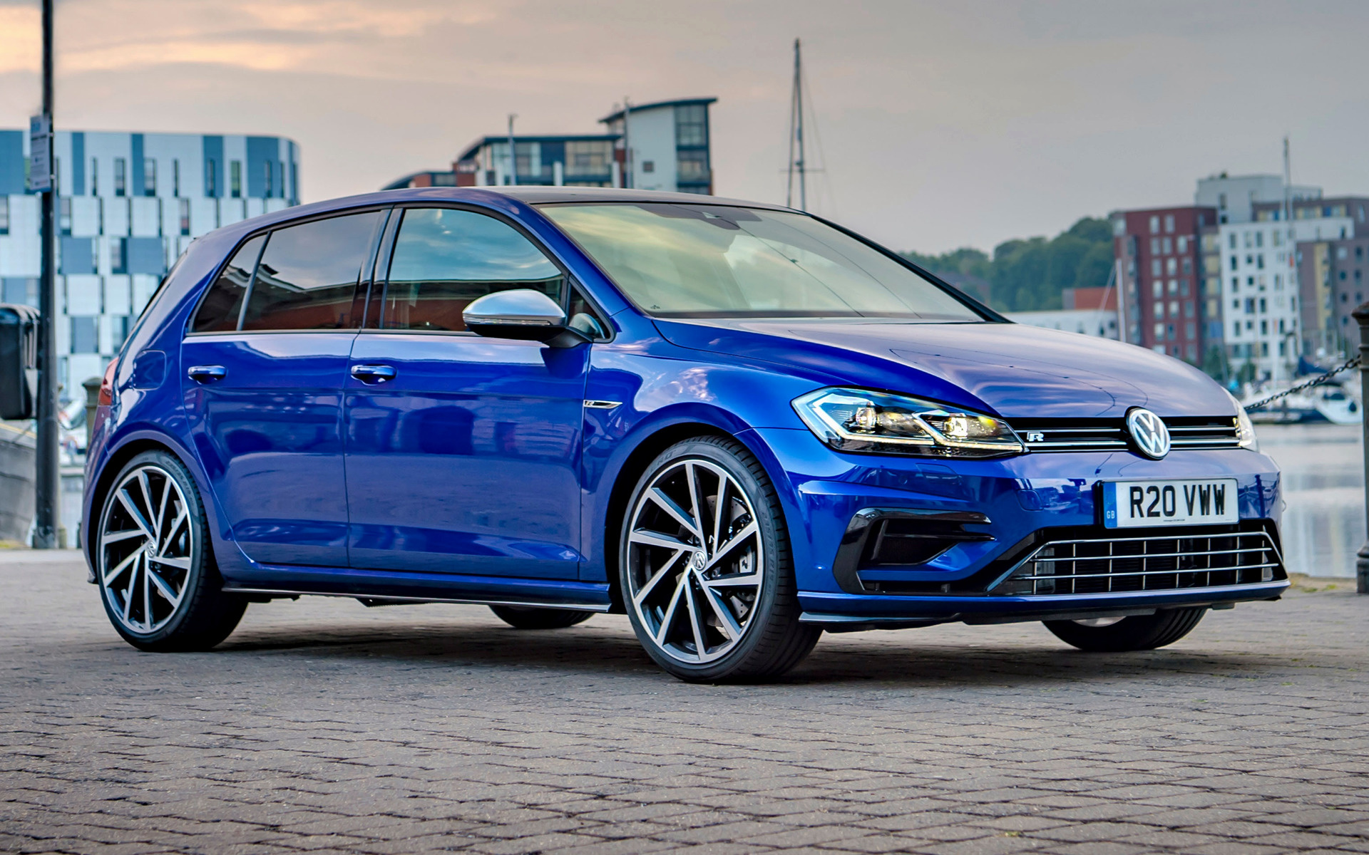Performance Ford Lincoln >> Volkswagen Golf R Performance Pack 5-door (2018) UK Wallpapers and HD Images - Car Pixel