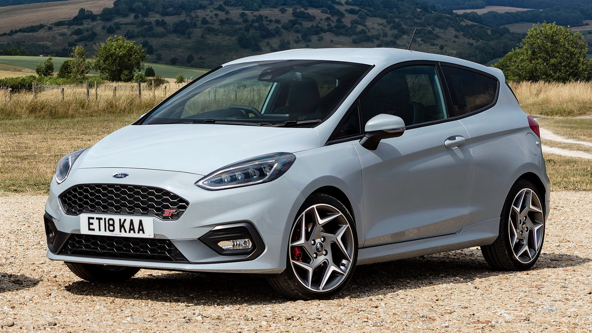 2018 Ford Fiesta ST 3-door (UK) - Wallpapers and HD Images ...