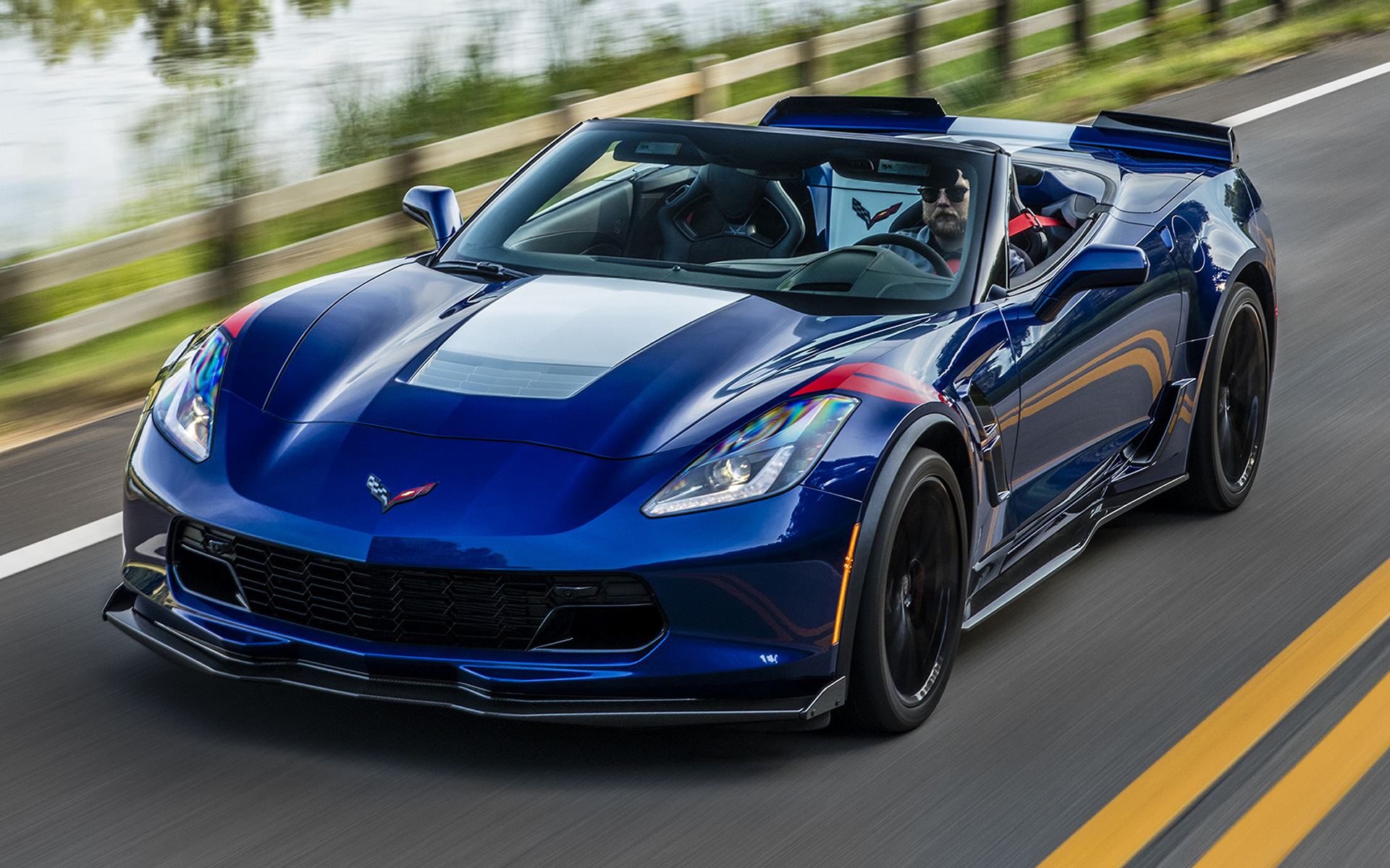 2017 Chevrolet Corvette Grand Sport Convertible - Wallpapers and HD Images | Car Pixel