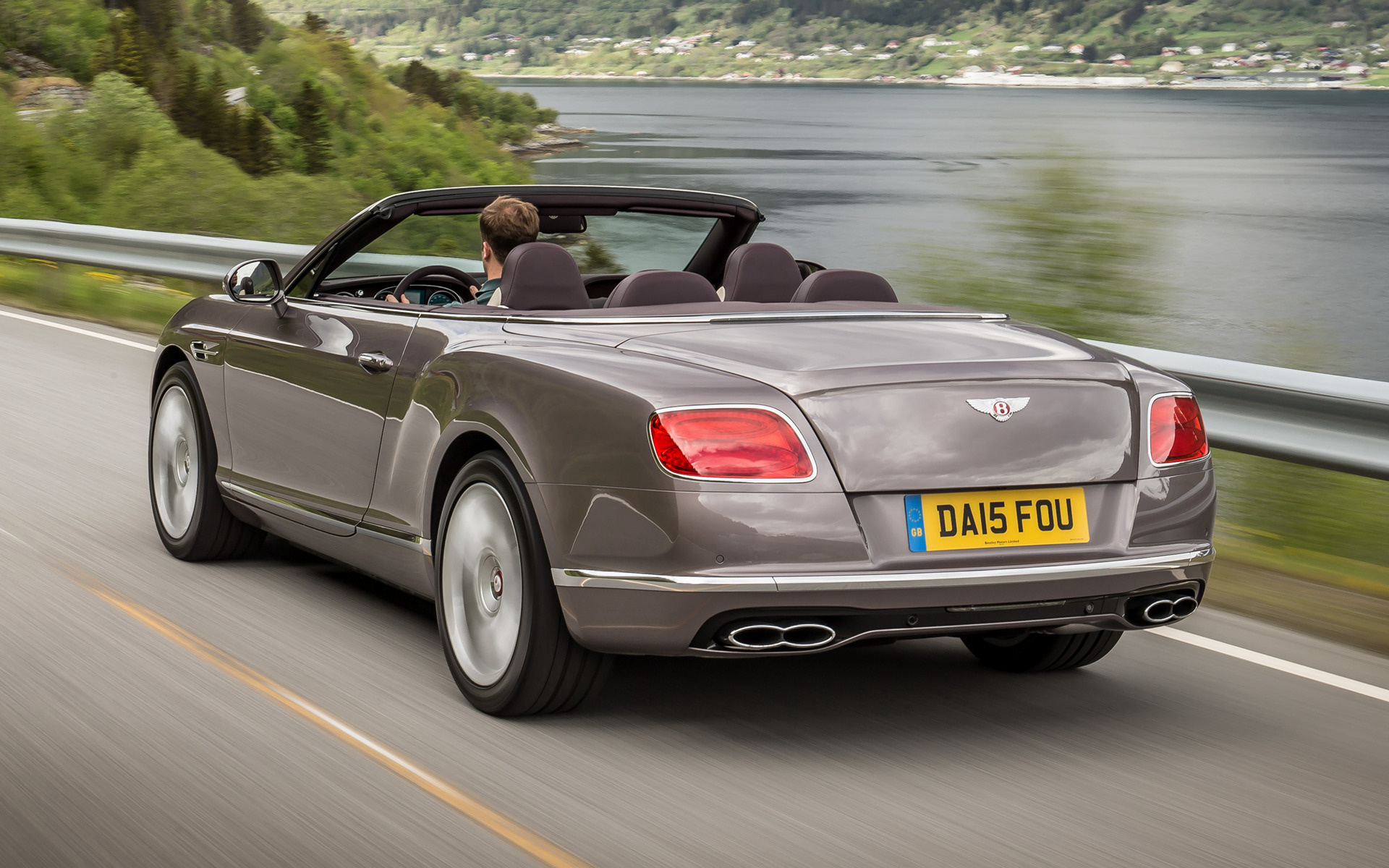 Bentley Continental GT V8 Convertible 2015 Wallpapers and HD Images