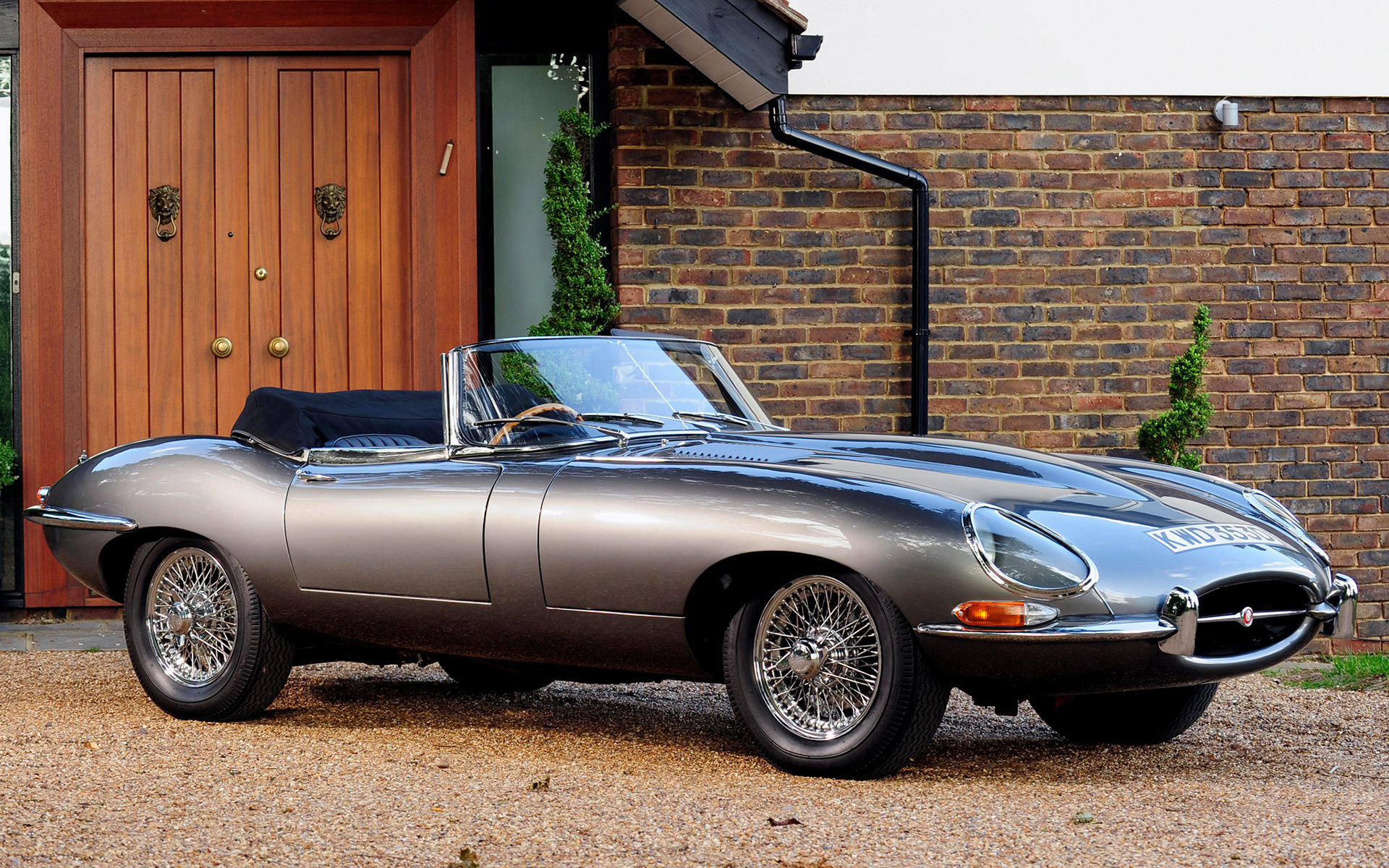 Jaguar E Type Open Two Seater 1961 Uk Wallpapers And Hd Images