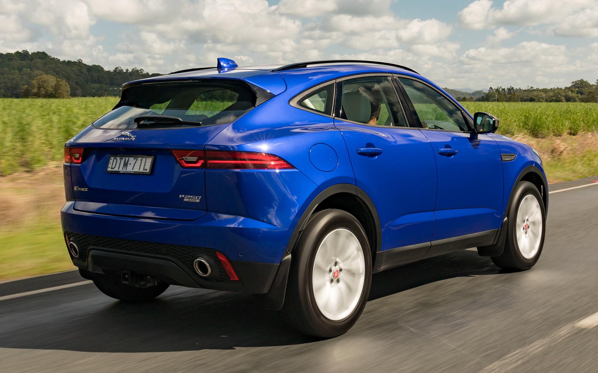 2018 Jaguar E-Pace (AU) - Wallpapers and HD Images | Car Pixel