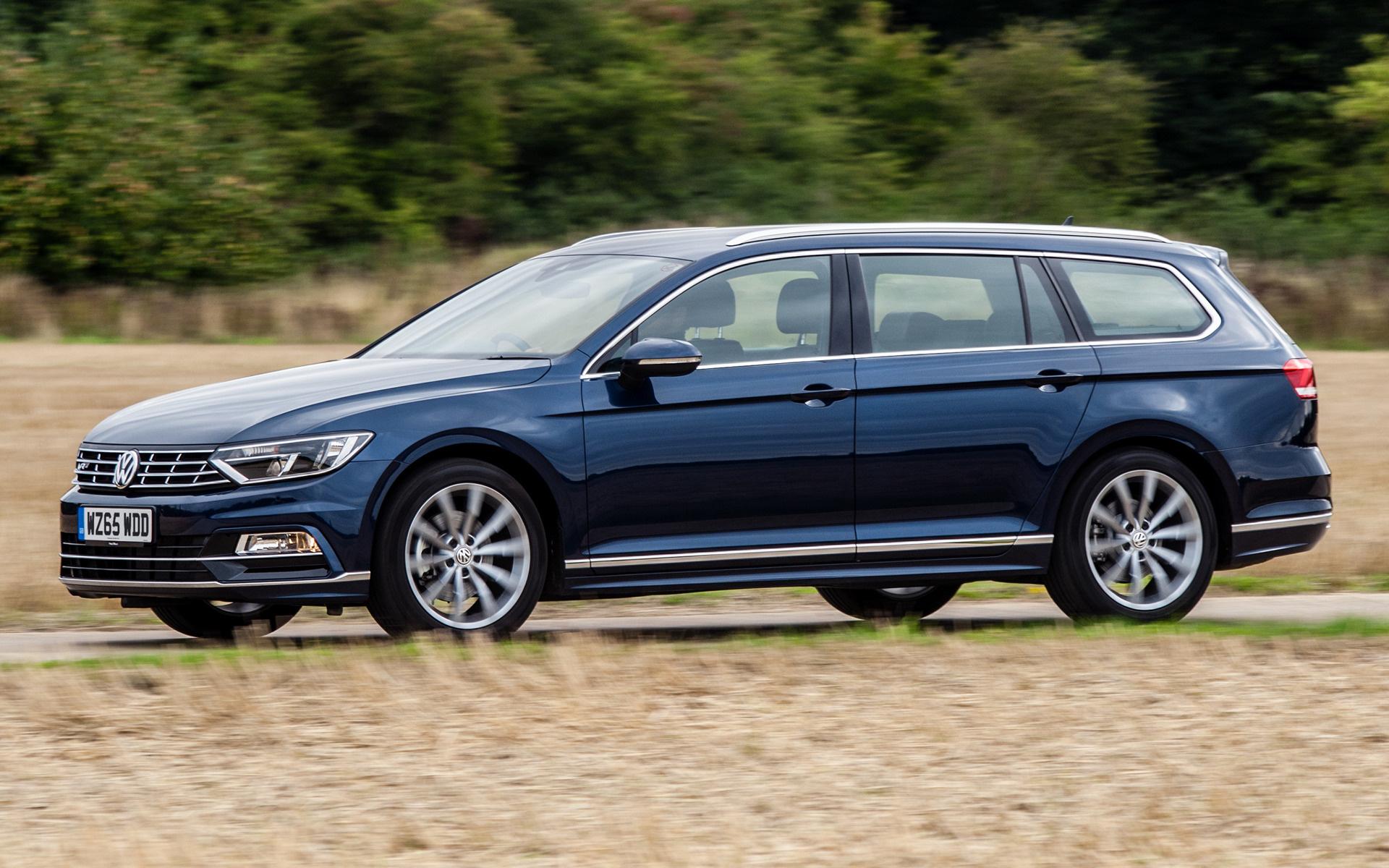 Volkswagen Passat Estate R Line 2015 Uk Wallpapers And