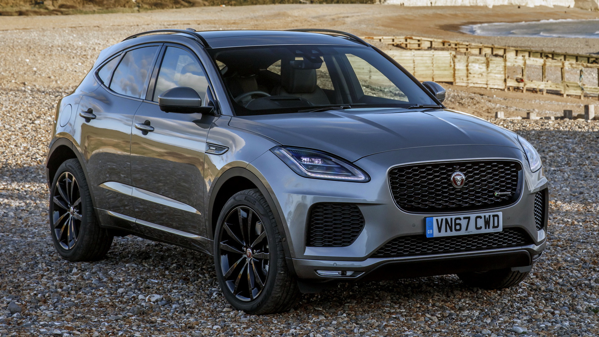 Jaguar E-Pace R-Dynamic (2017) UK Wallpapers and HD Images ...