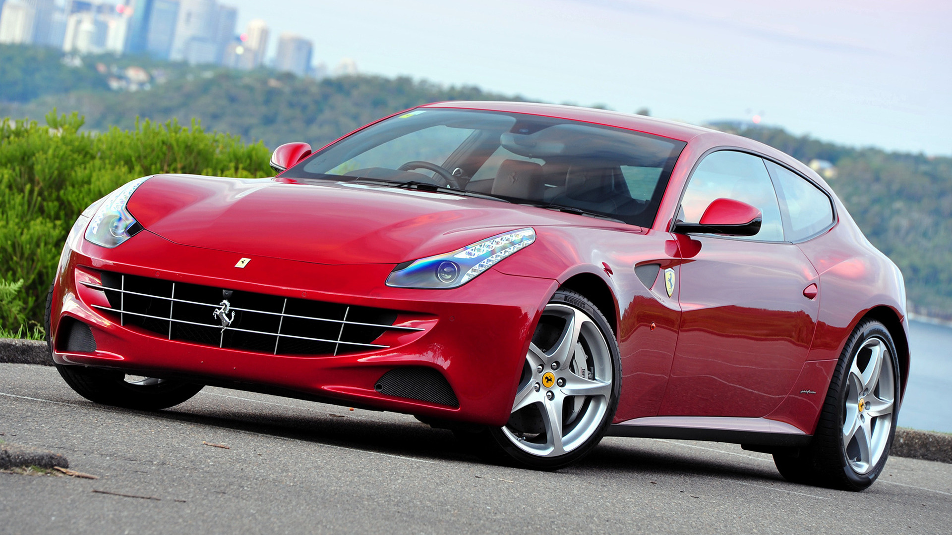2012 Ferrari Ff Au Wallpapers And Hd Images Car Pixel