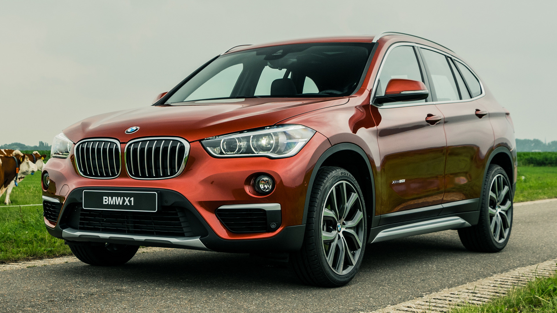 2017 Bmw X1 Orange Edition Wallpapers And Hd Images