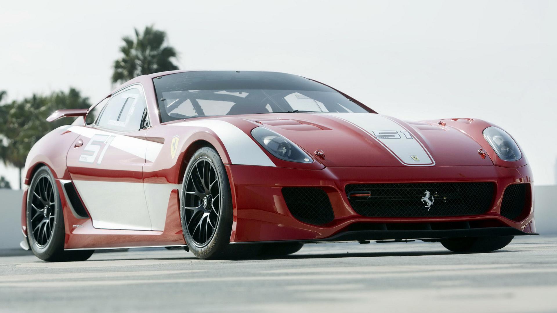 2009 Ferrari 599XX - Wallpapers and HD Images | Car Pixel