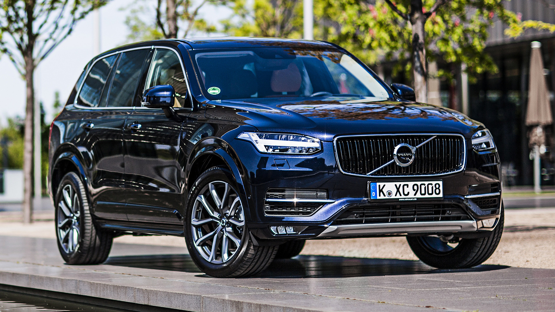 Volvo Xc90 Momentum 2015 Wallpapers And Hd Images Car Pixel