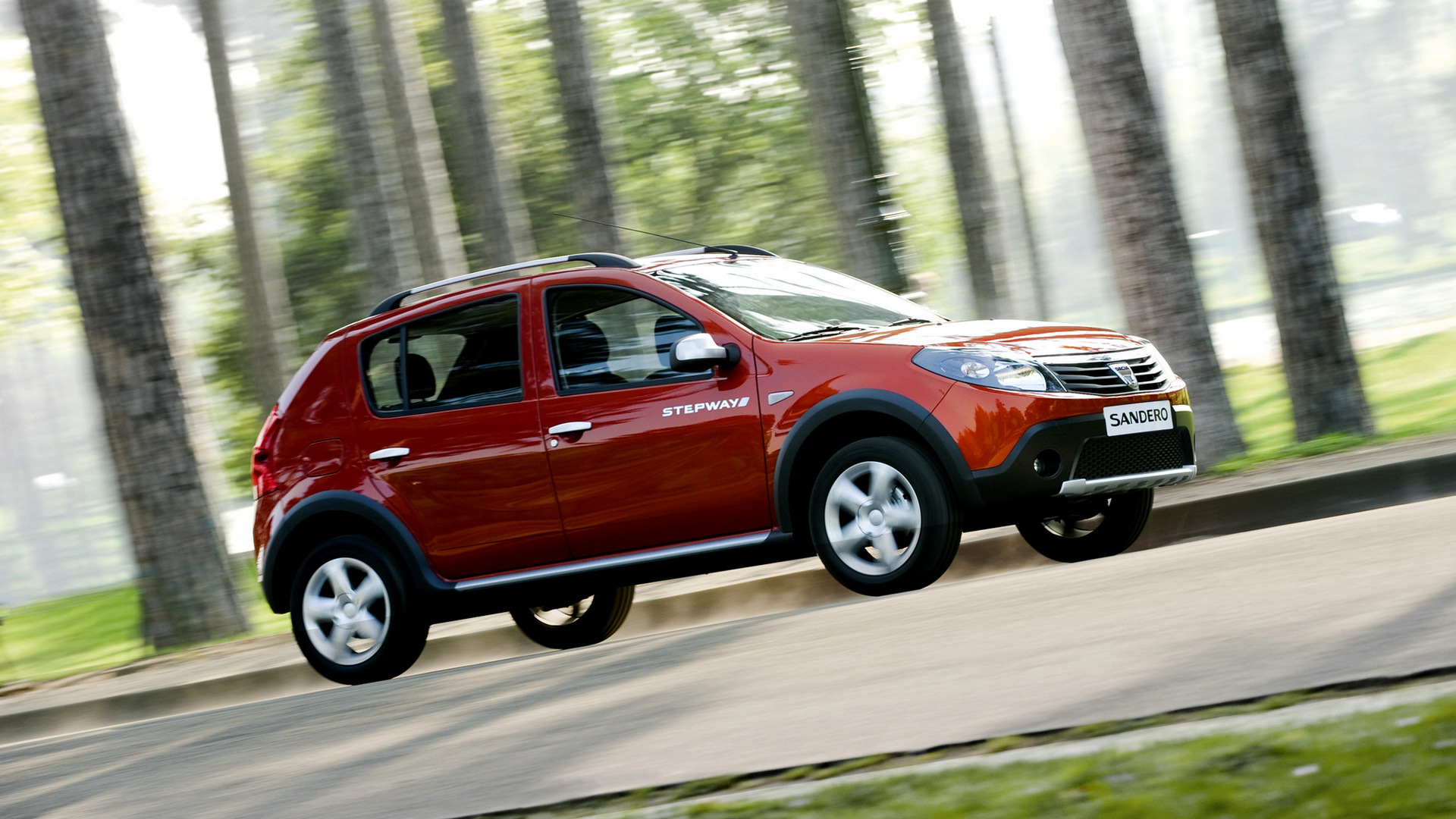 dacia sandero stepway 2009 wallpapers and hd images. Black Bedroom Furniture Sets. Home Design Ideas