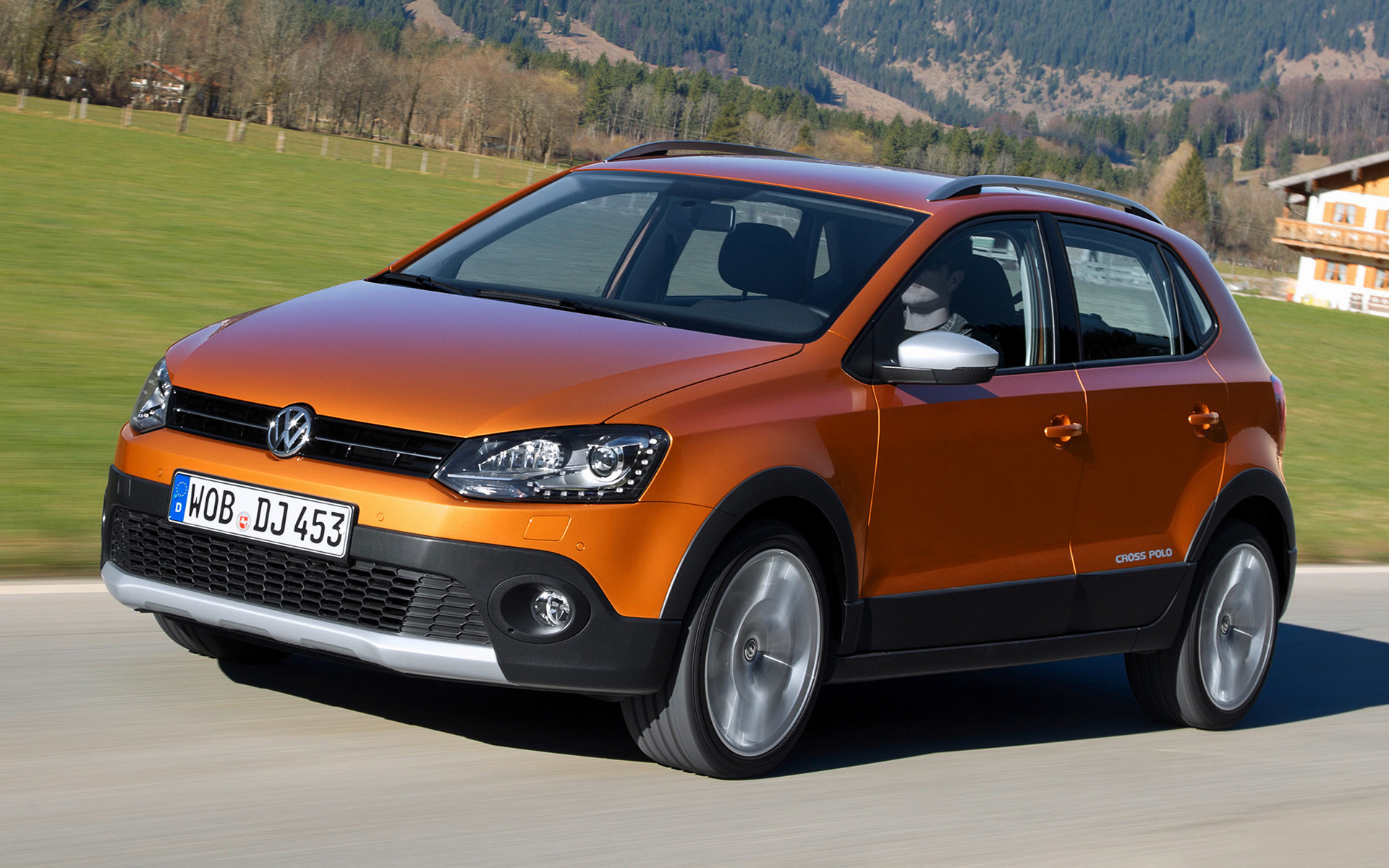 Volkswagen Cross Polo 2014 Wallpapers and HD Images