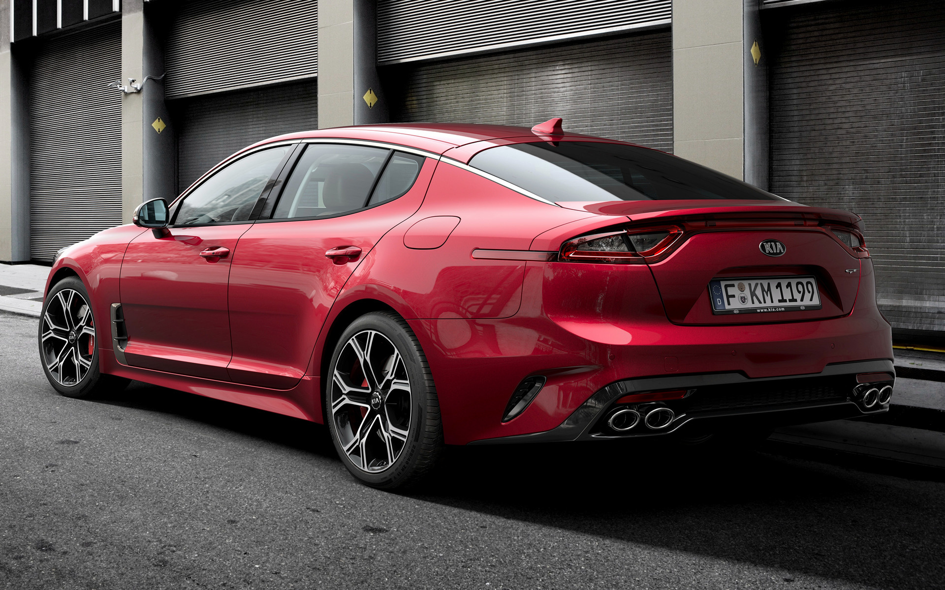 2017 Kia Stinger GT - Wallpapers and HD Images | Car Pixel