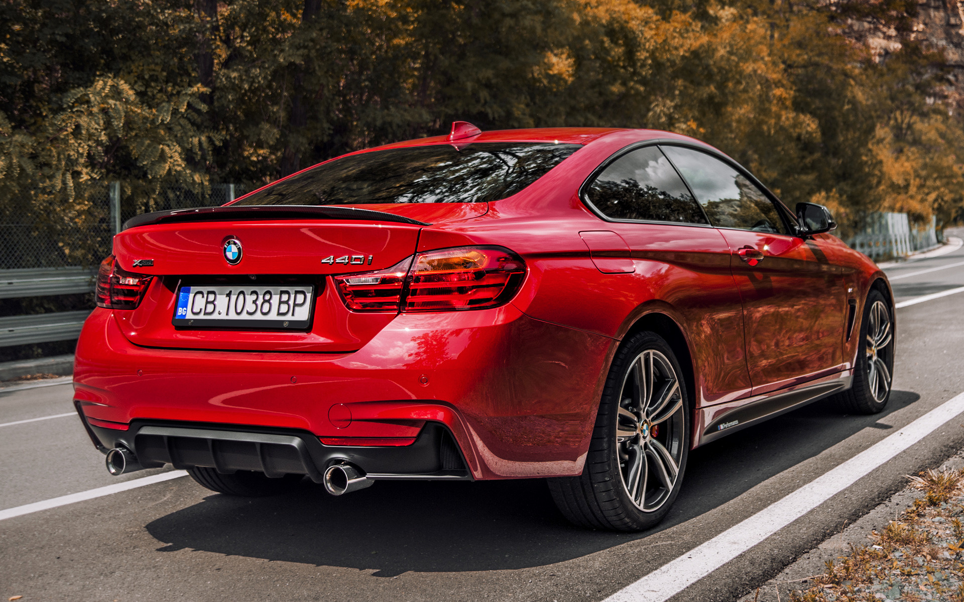 2016 BMW 4 Series Coupe M Performance Red Edition - Wallpapers and HD Images | Car Pixel