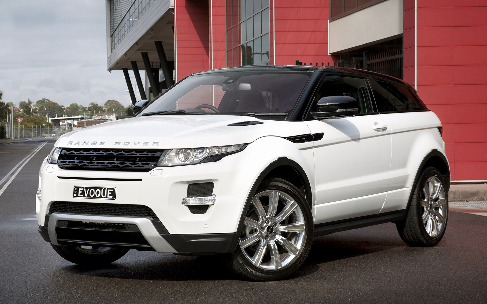 range rover evoque coupe dynamic 2011 au wallpapers and hd images car pixel. Black Bedroom Furniture Sets. Home Design Ideas