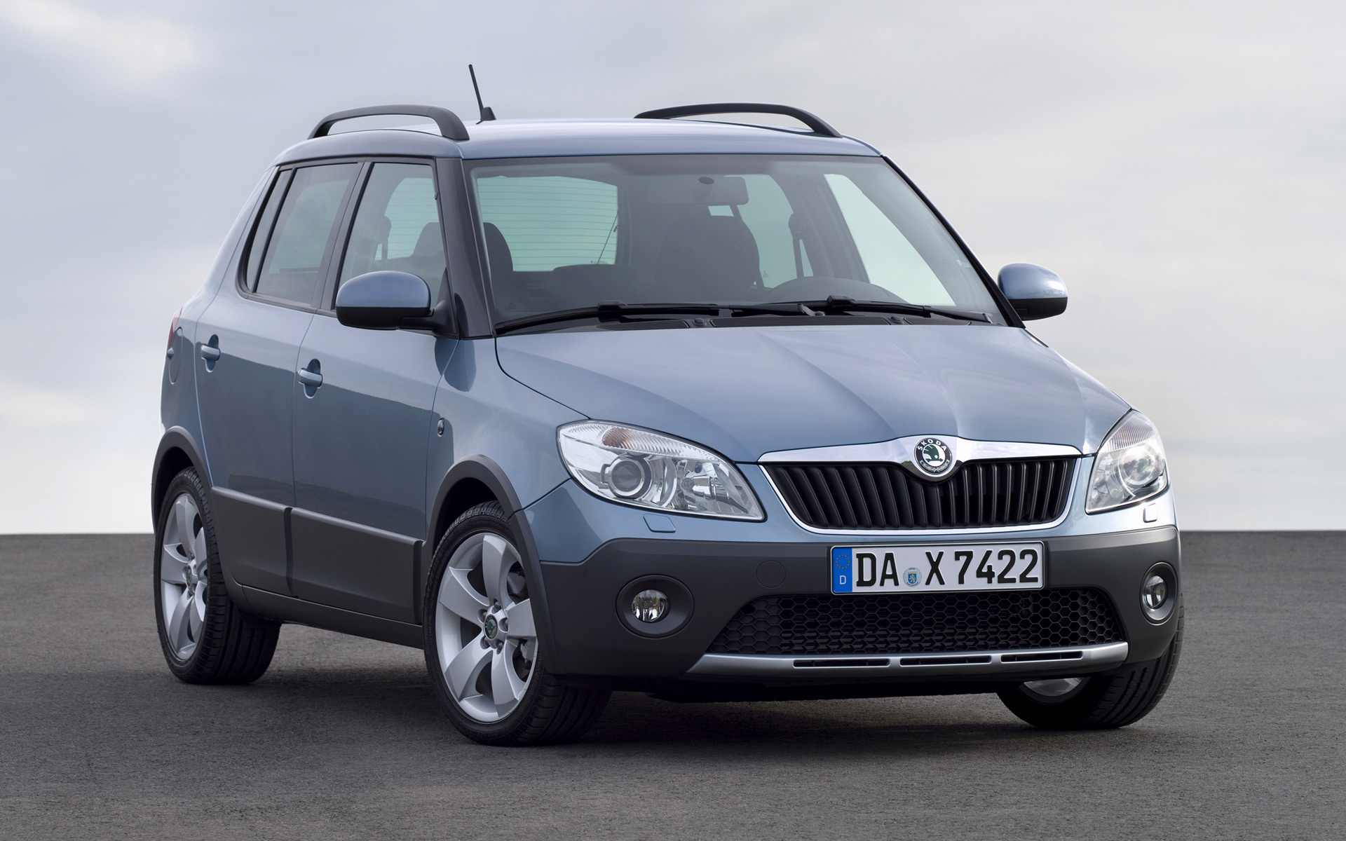2010 skoda fabia scout wallpapers and hd images car pixel. Black Bedroom Furniture Sets. Home Design Ideas