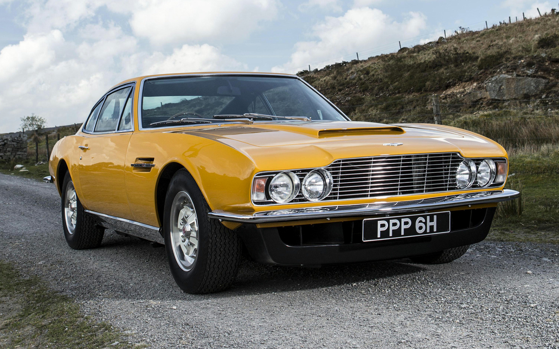 Aston Martin Dbs The Persuaders Car Wallpaper