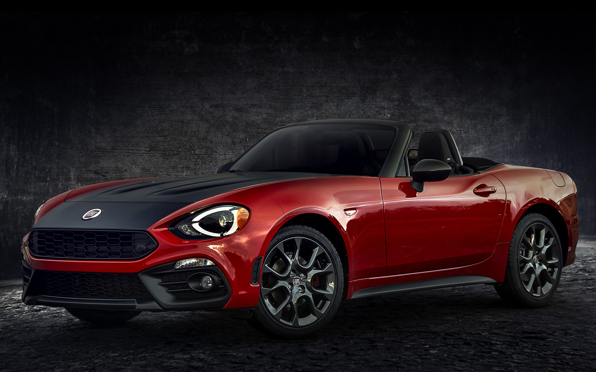 fiat 124 spider abarth 2017 us wallpapers and hd images car pixel. Black Bedroom Furniture Sets. Home Design Ideas