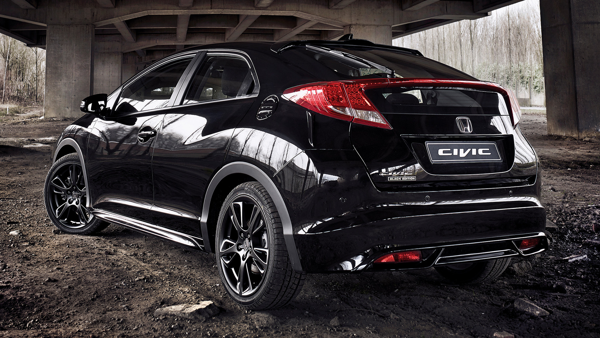 Honda Civic Black Edition 2014 Wallpapers And Hd Images