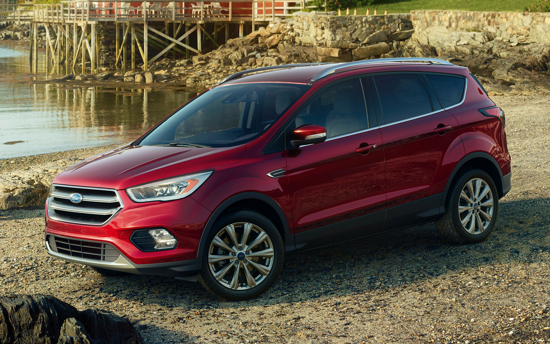 2017 Ford Escape Titanium - Wallpapers And HD Images