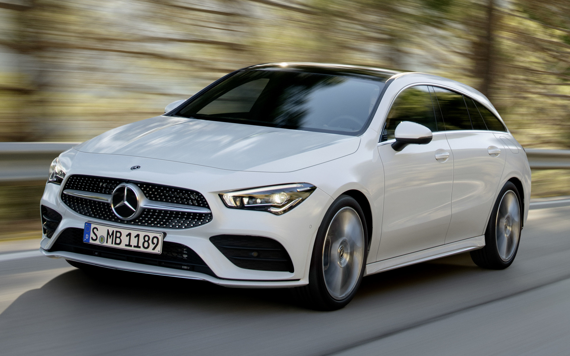 Mercedes Benz Cla >> 2019 Mercedes-Benz CLA-Class Shooting Brake AMG Line - Wallpapers and HD Images | Car Pixel