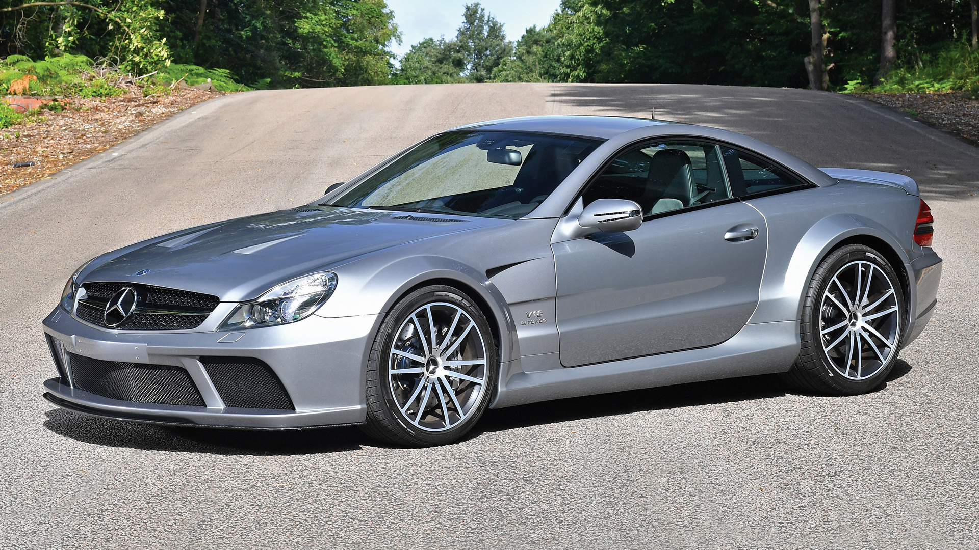 2008 Mercedes Benz Sl 65 Amg Black Series Wallpapers And