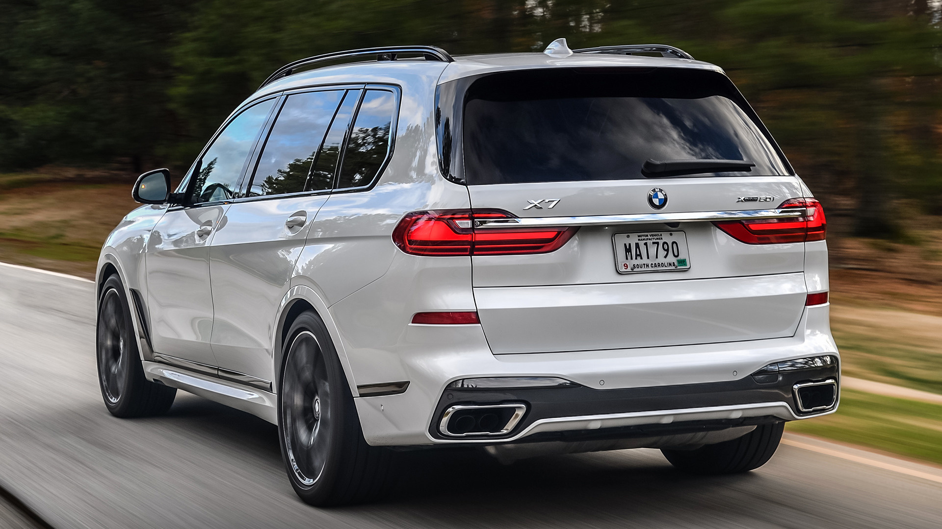 2020 Bmw X7 M Sport Us Wallpapers And Hd Images Car
