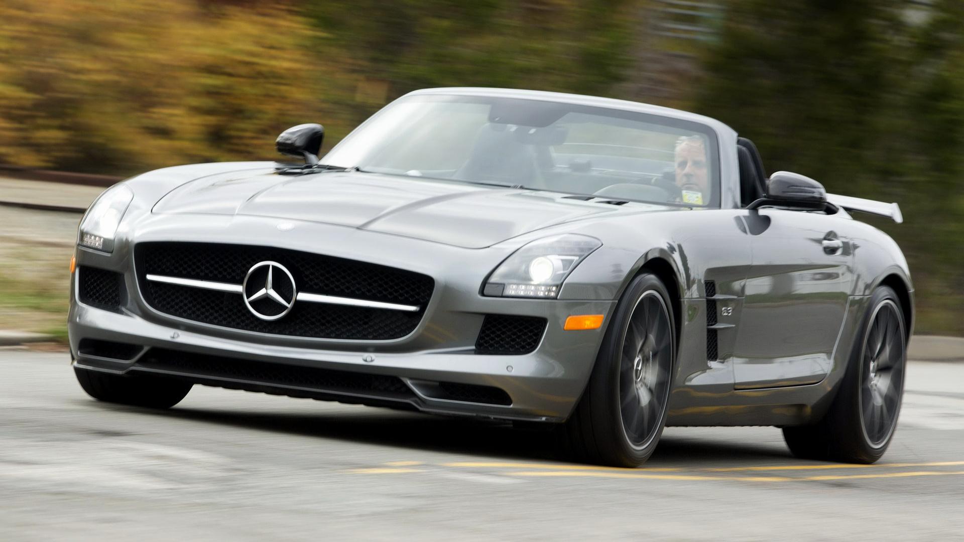 Mercedes Benz Sls Amg Gt Roadster Final Edition 2014 Us Wallpapers
