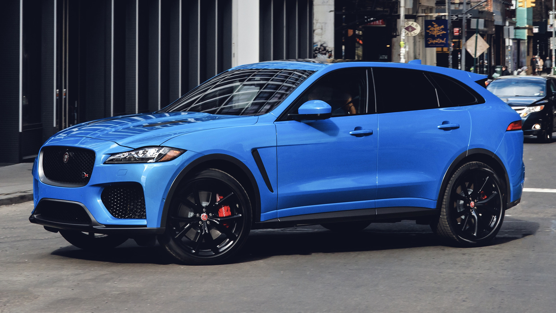 2019 Jaguar F-Pace SVR (US) - Wallpapers and HD Images ...