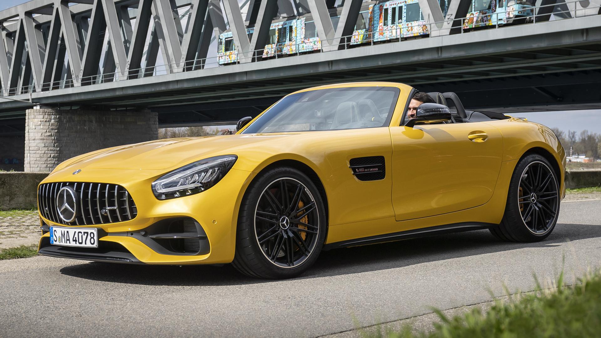 2019 Mercedes Amg Gt S Roadster Papeis De Parede E Imagens De Fundo Em Hd Car Pixel