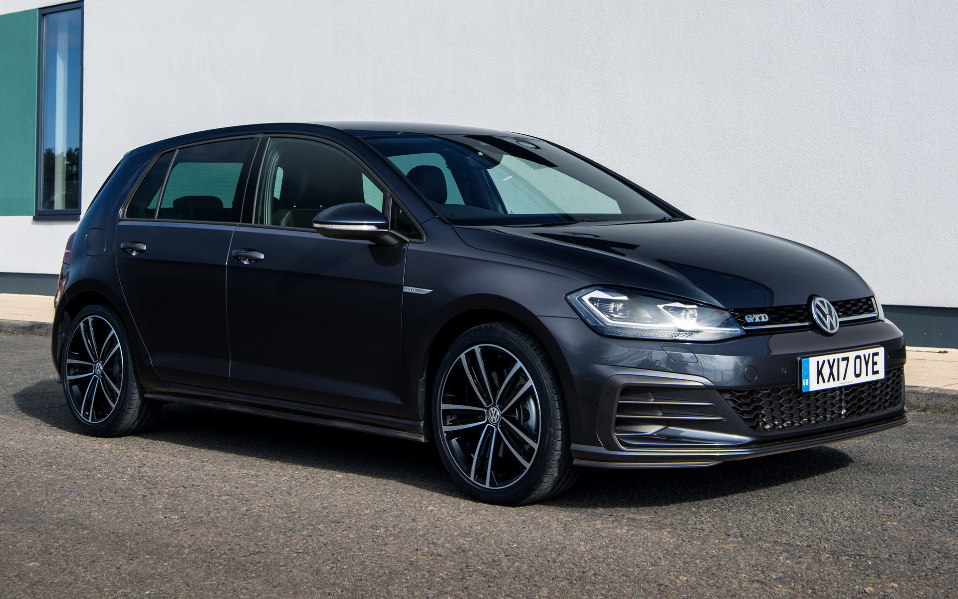 2017 Volkswagen Golf GTD 5-door (UK) - Wallpapers and HD Images | Car Pixel