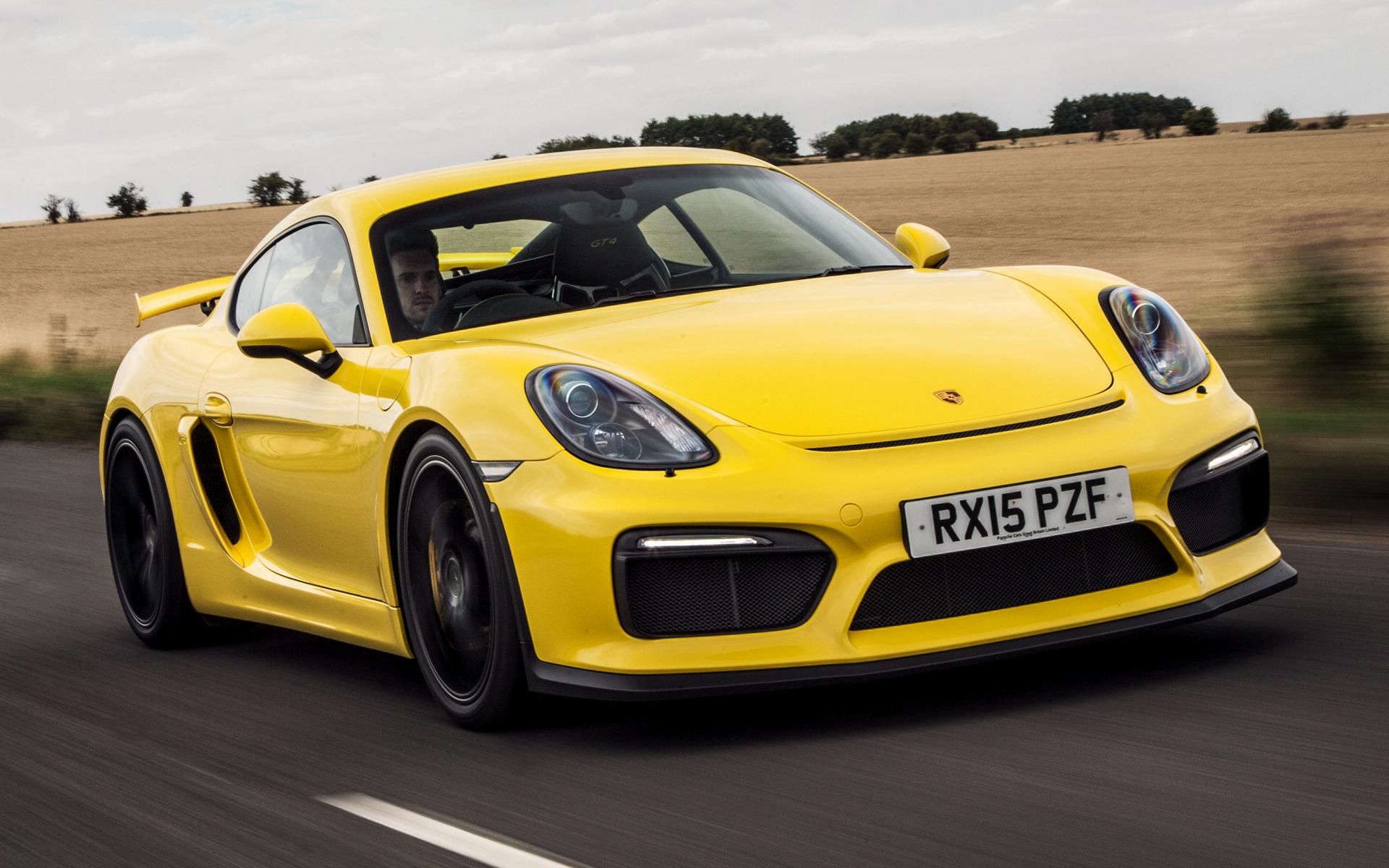 Cayman Gt4 Wall Paper: 2015 Porsche Cayman GT4 (UK)