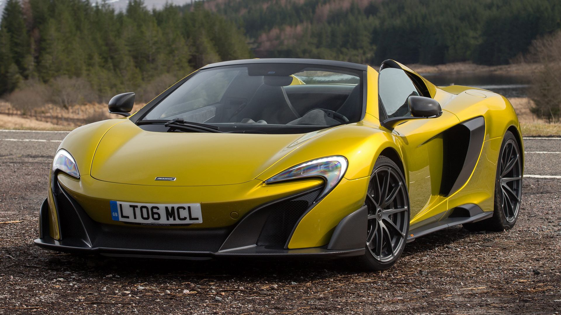 Mclaren 675lt Spider 2016 Wallpapers And Hd Images Car