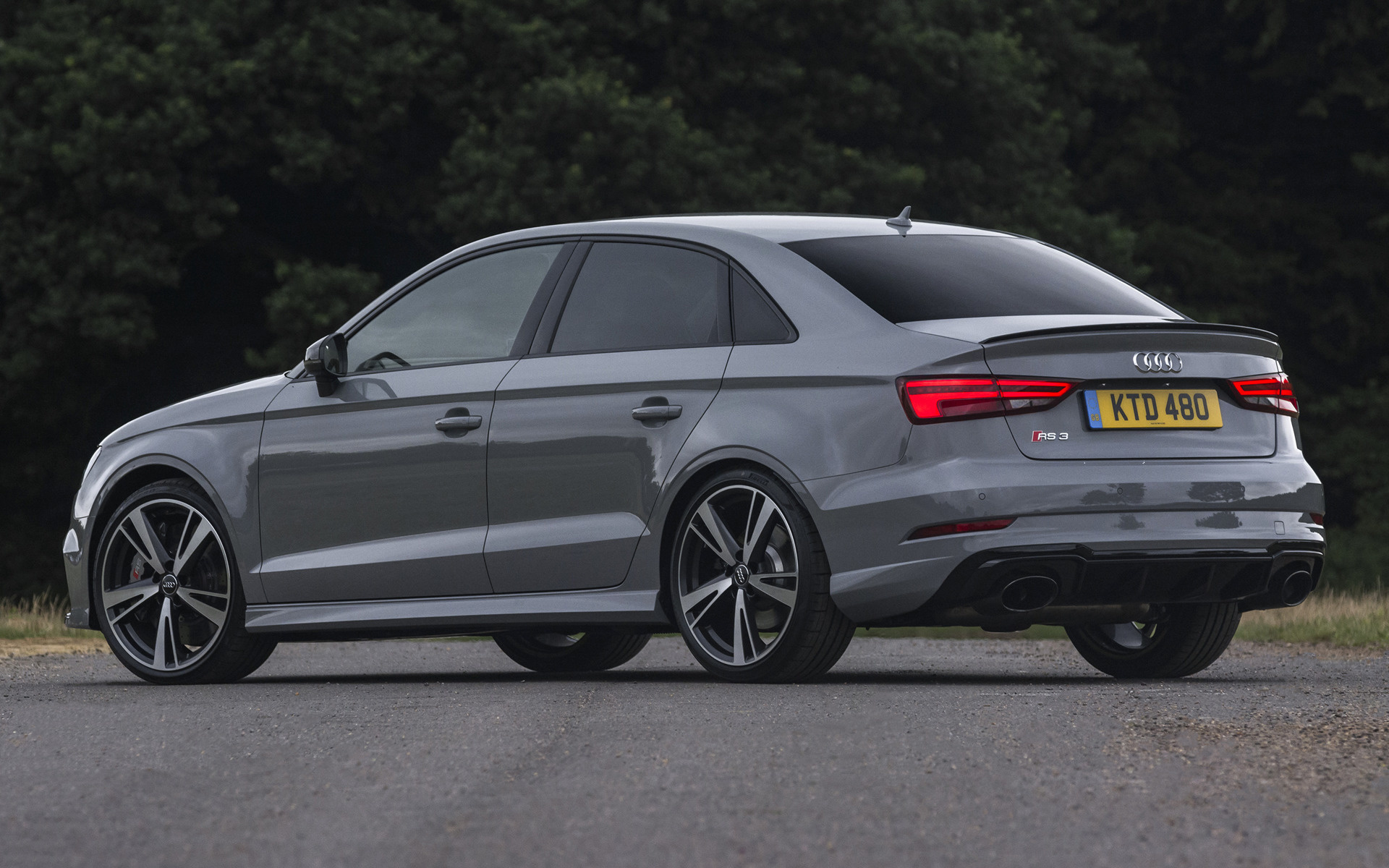 2017 audi rs 3 saloon (uk) - wallpapers and hd images | car pixel