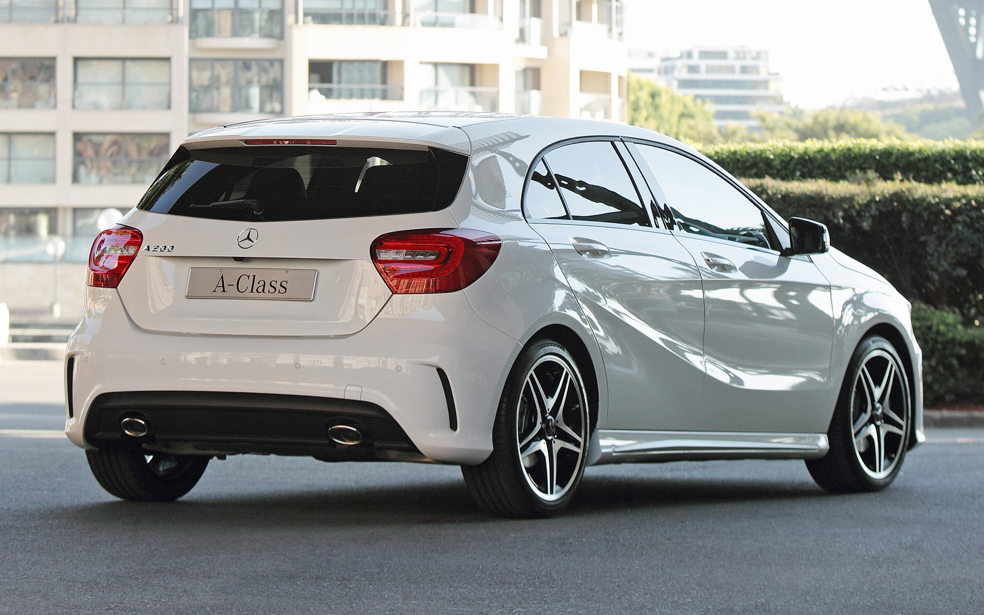 2012 mercedes benz a class amg sport au wallpapers and. Black Bedroom Furniture Sets. Home Design Ideas