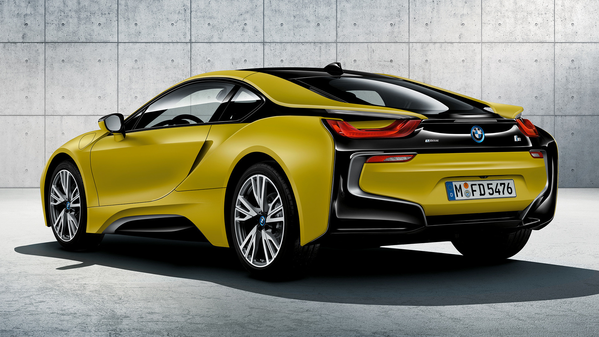 bmw i8 protonic frozen yellow edition 2017 wallpapers and hd images car pixel. Black Bedroom Furniture Sets. Home Design Ideas