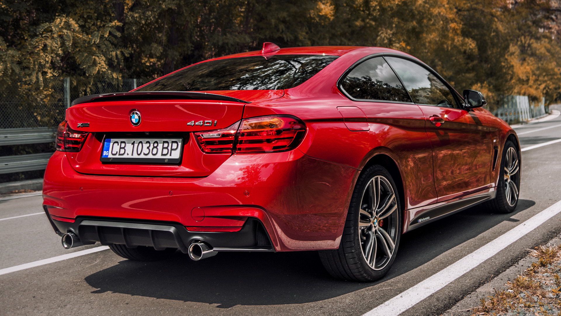 Bmw Series Coupe M Performance Red Edition Wallpaper Hd