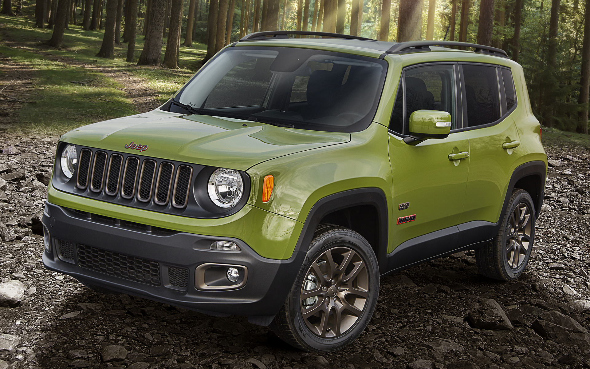 Jeep Renegade 75th Anniversary 2016 Wallpapers And Hd