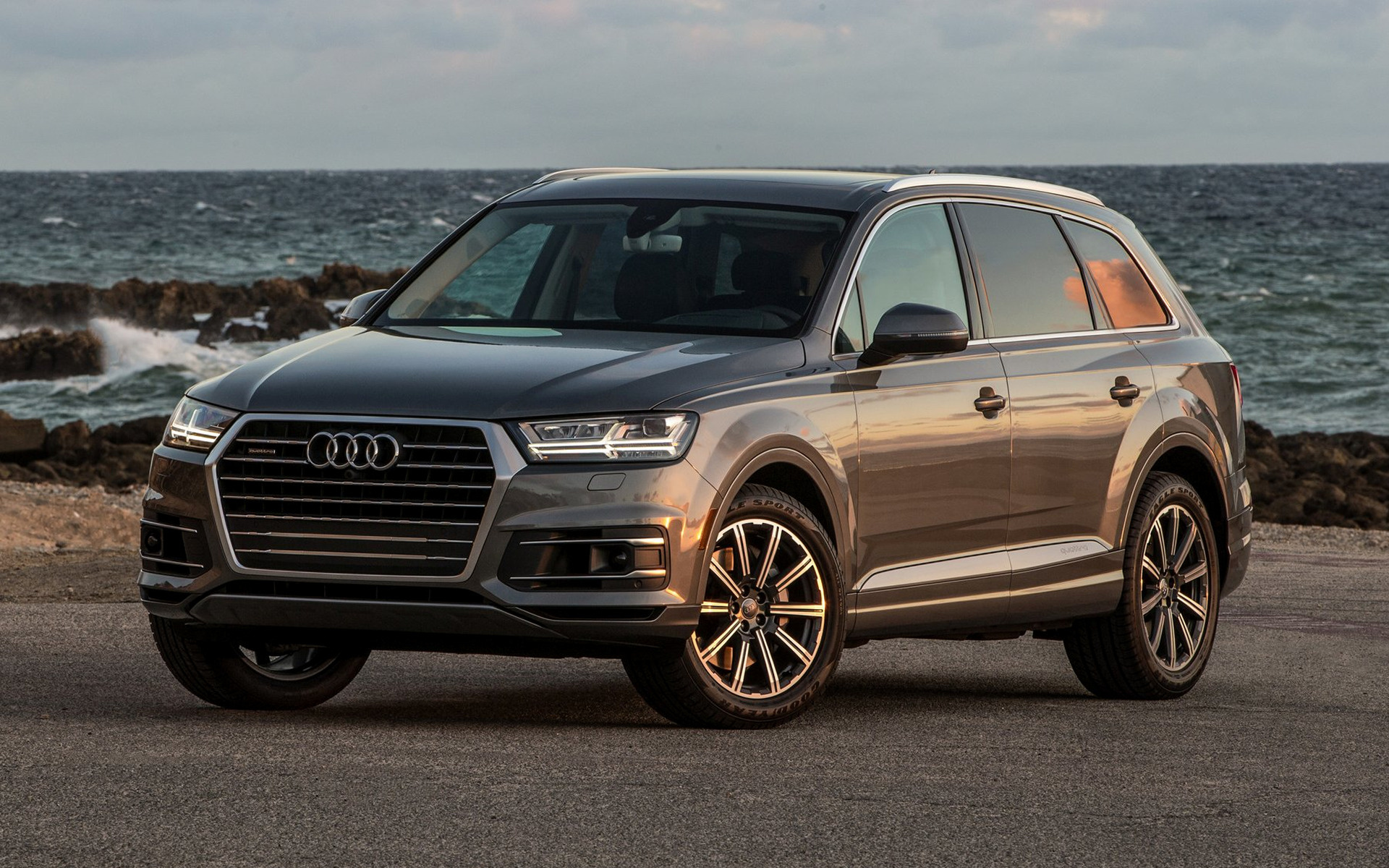 2017 Dodge Ram >> 2017 Audi Q7 (US) - Wallpapers and HD Images | Car Pixel