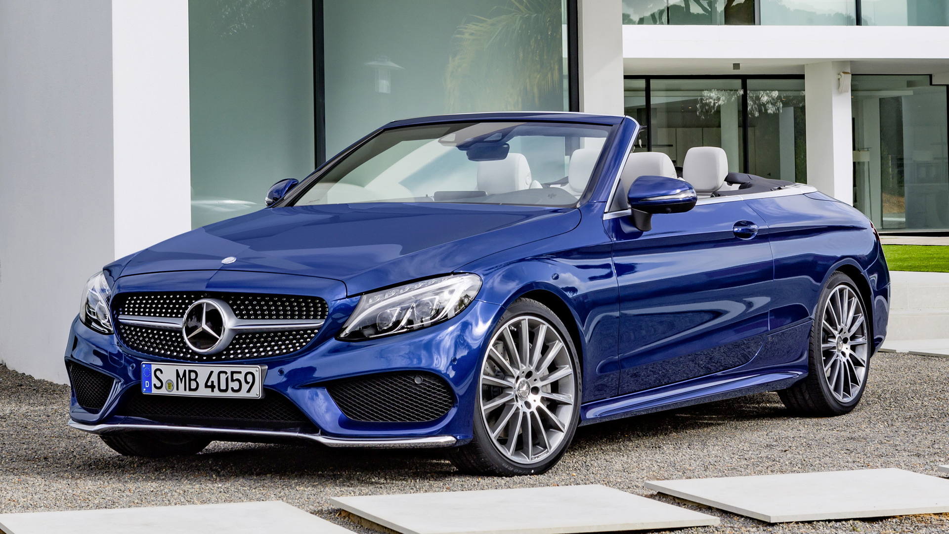 2016 Mercedes Benz C Class Cabriolet Amg Line Wallpapers