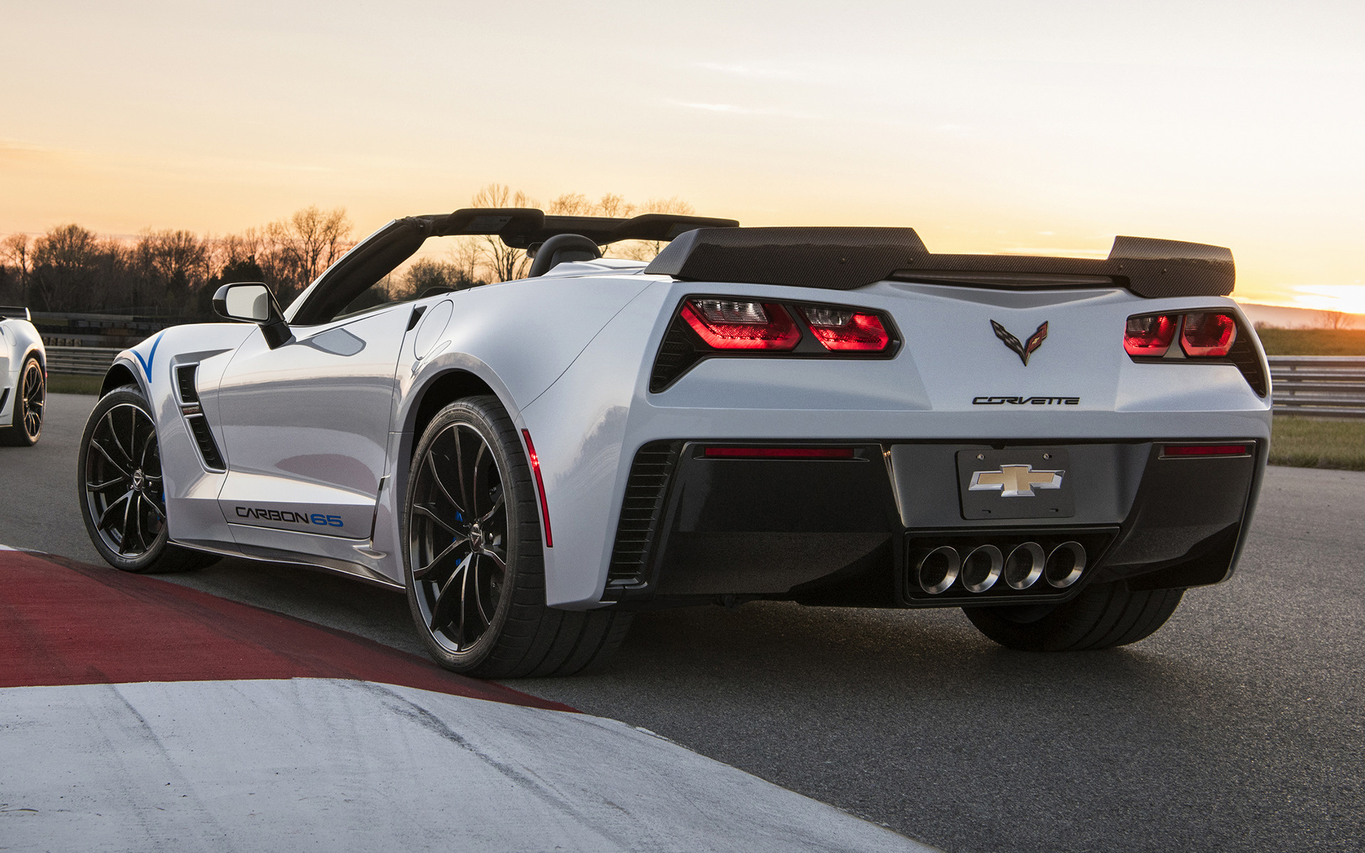 Corvette Grand Sport >> 2018 Chevrolet Corvette Grand Sport Convertible Carbon 65 Edition - Wallpapers and HD Images ...