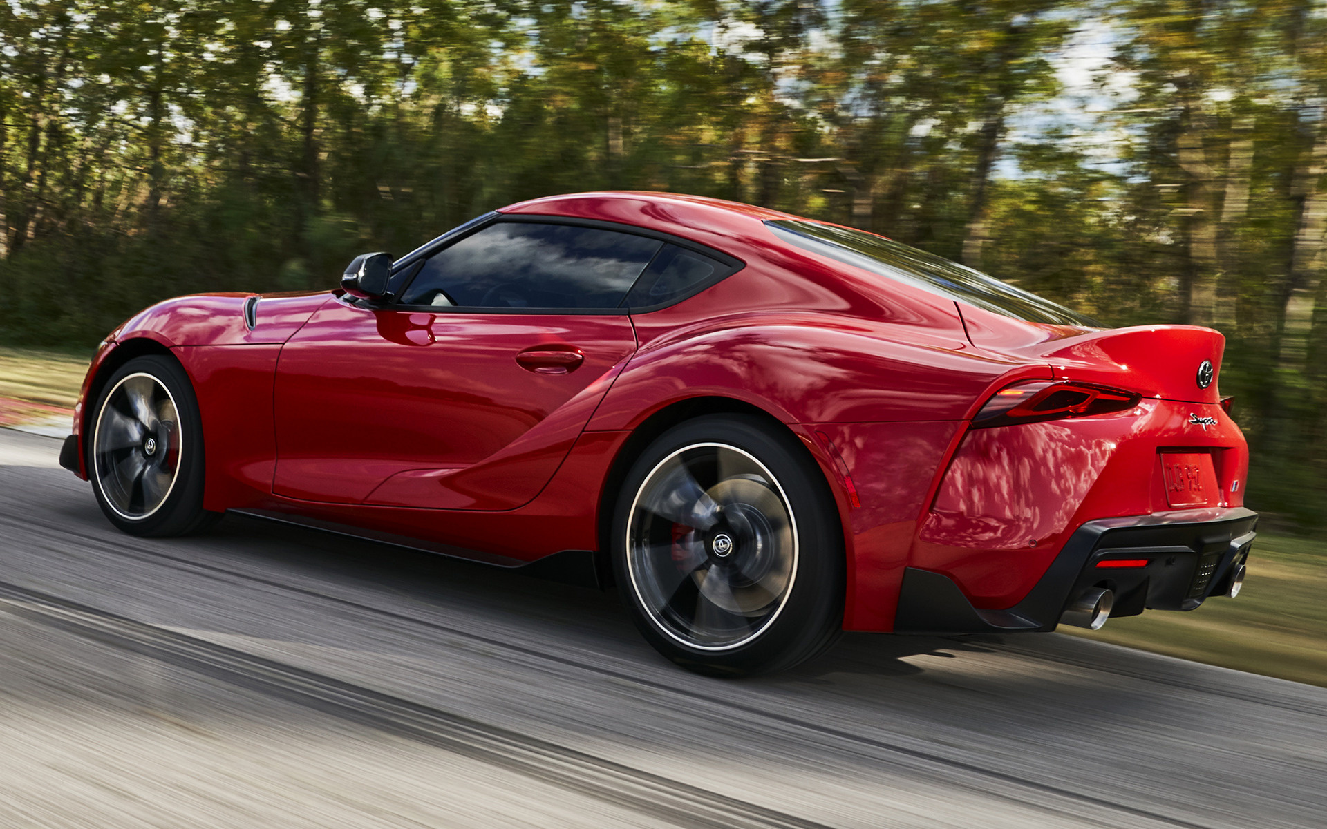 2018 Toyota Supra >> 2020 Toyota GR Supra (US) - Wallpapers and HD Images | Car ...