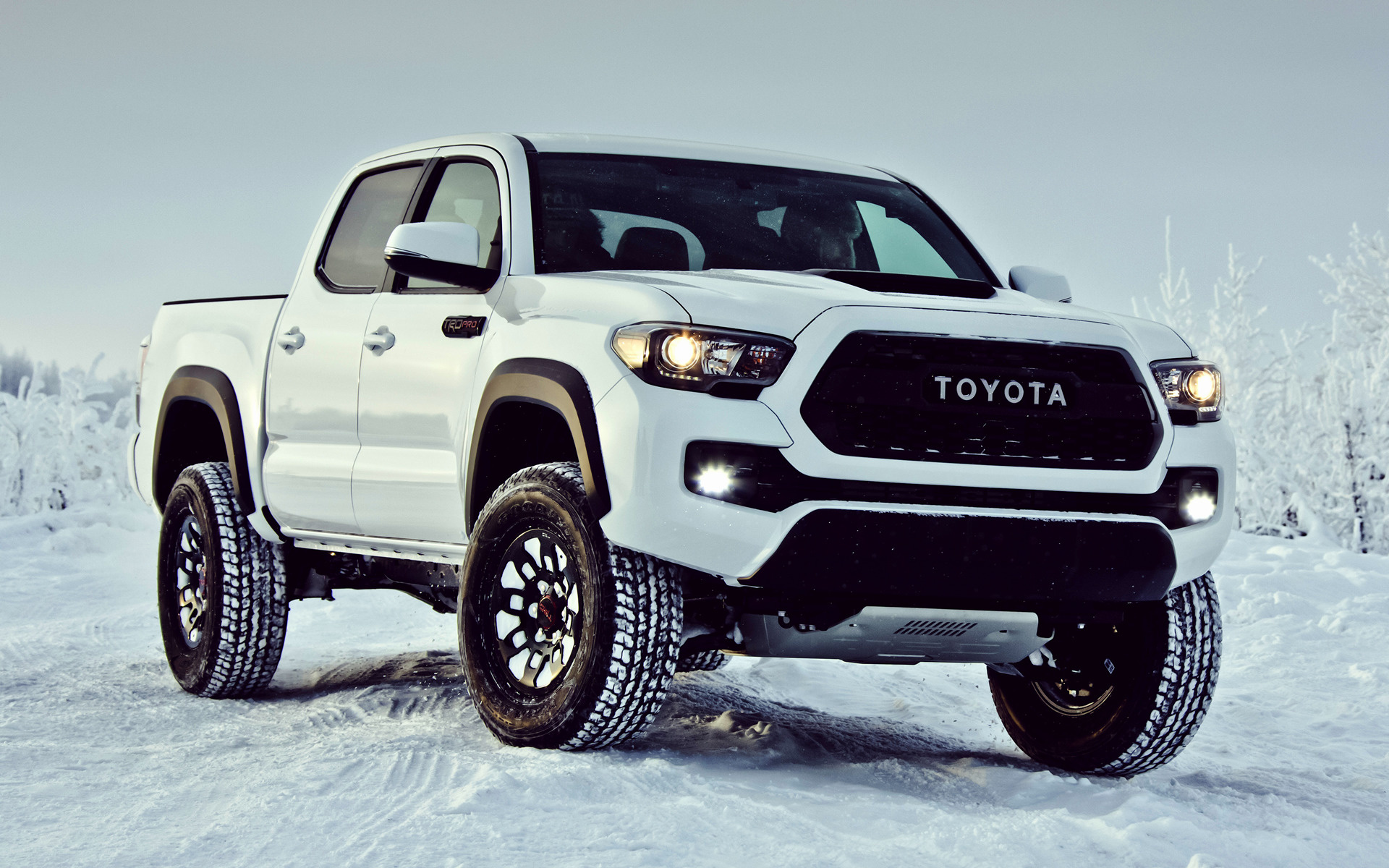 Toyota Tacoma Trd Pro Double Cab Car Wallpaper