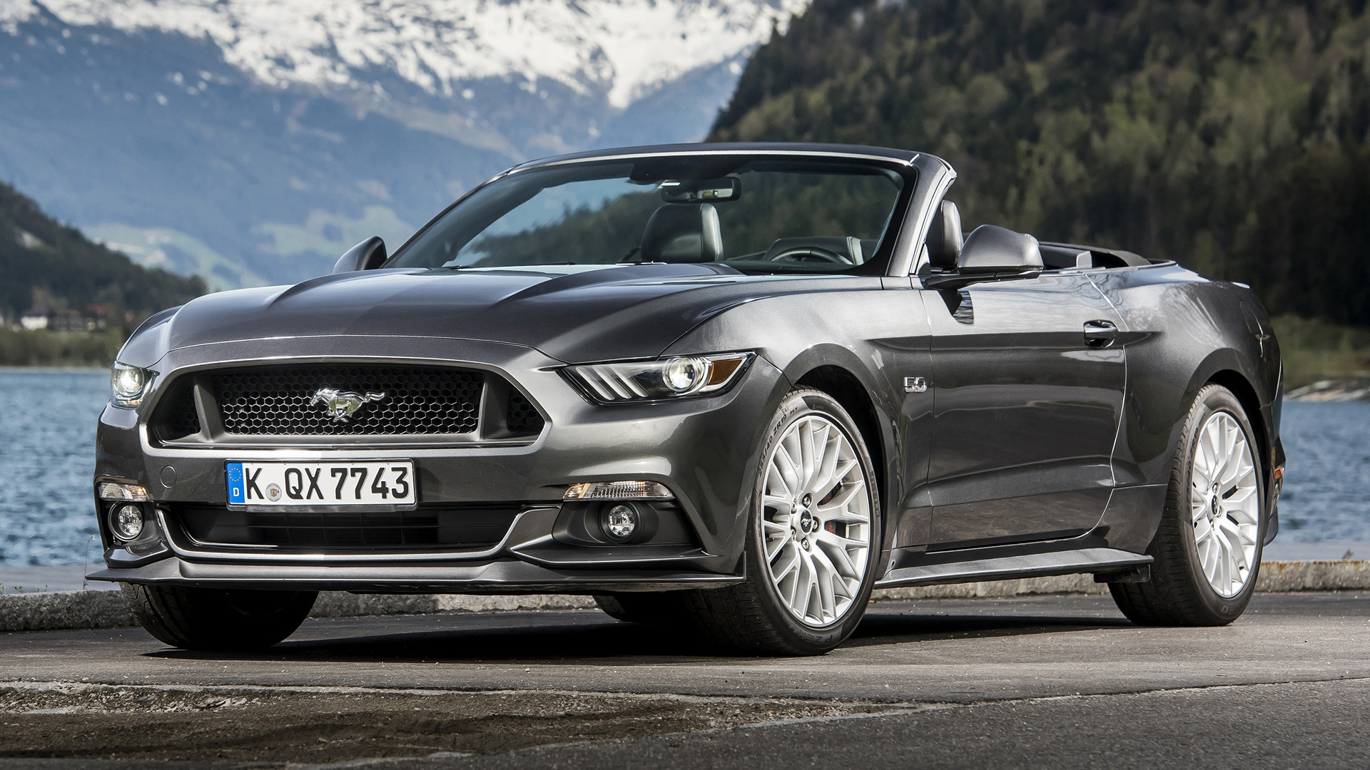 2015 Ford Mustang Gt Convertible Eu Wallpapers And Hd