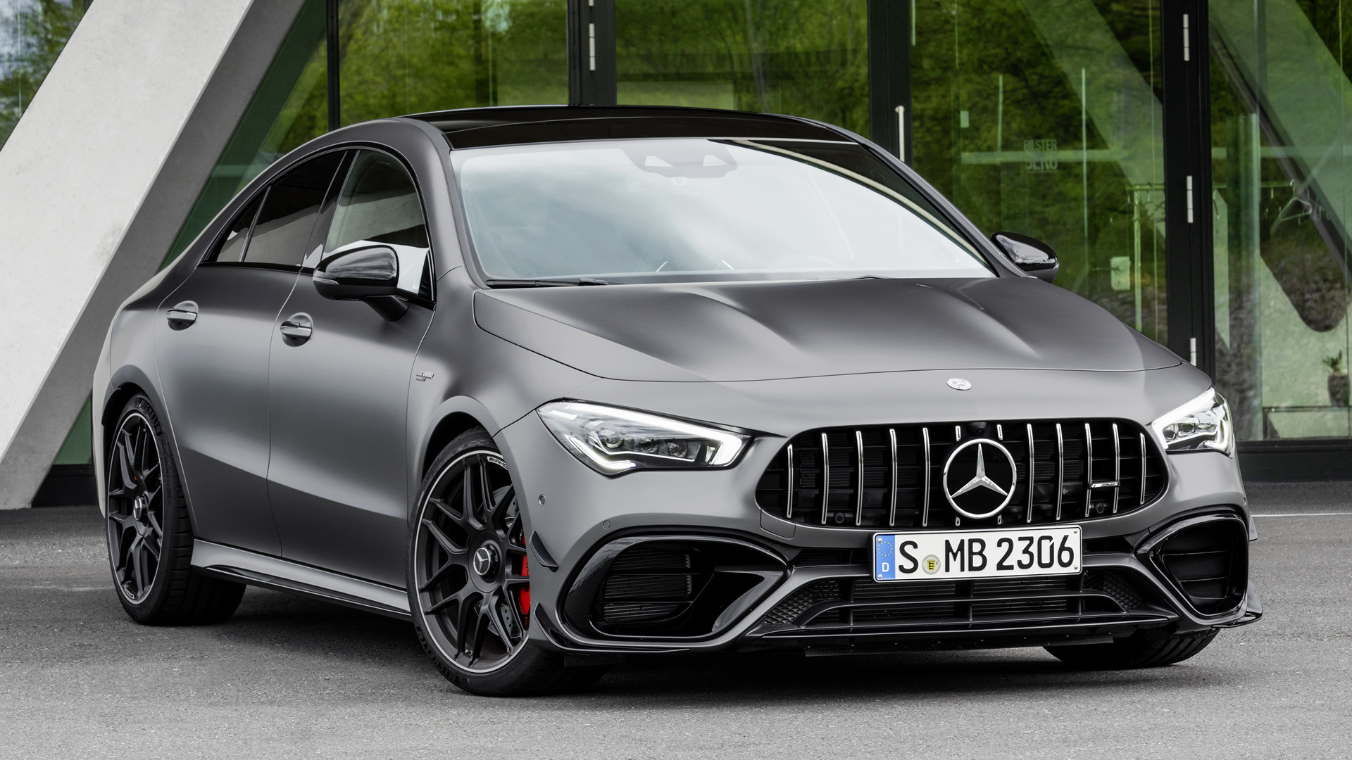 2019 Mercedes AMG CLA 45 S Aerodynamics Package