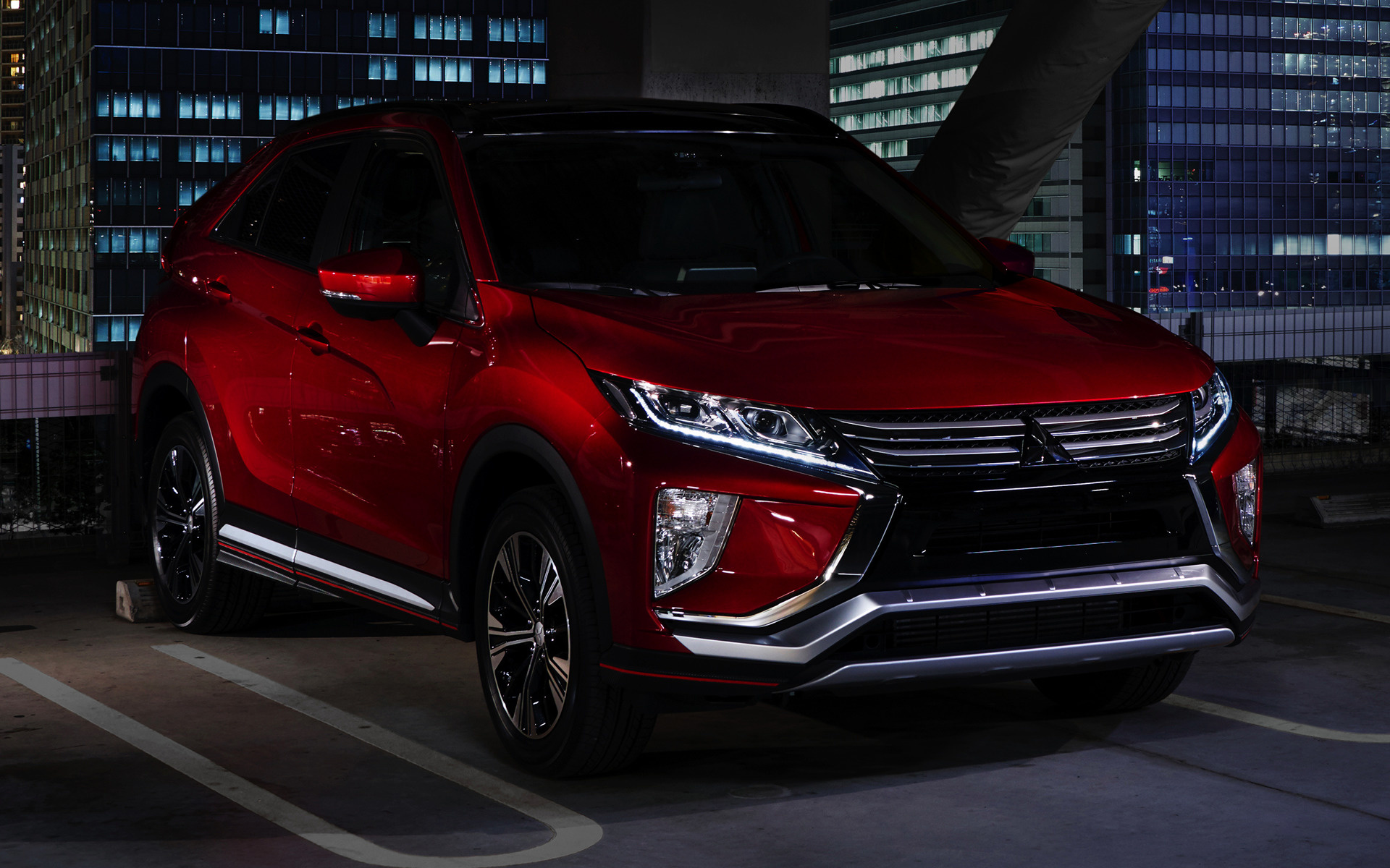 Cross Chrysler Jeep >> 2017 Mitsubishi Eclipse Cross - Wallpapers and HD Images ...