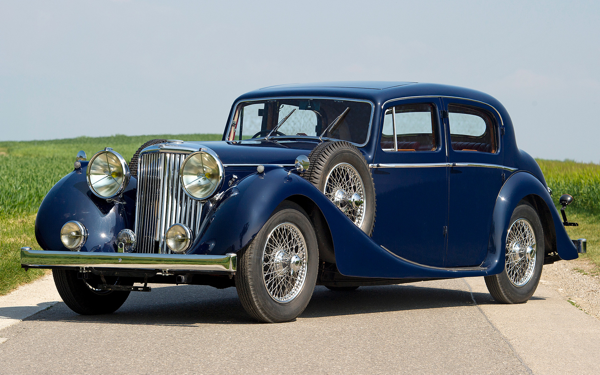 1945 Jaguar Mark IV (UK) - Wallpapers and HD Images | Car Pixel